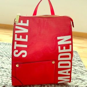 Steve Madden Red Bag - Used - Great Condition